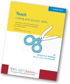 Teach Cutting and Scissor Skills eBook Cover
