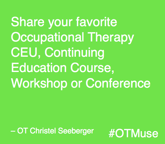 Occupational Therapy Assistant (OTA) build my thesis