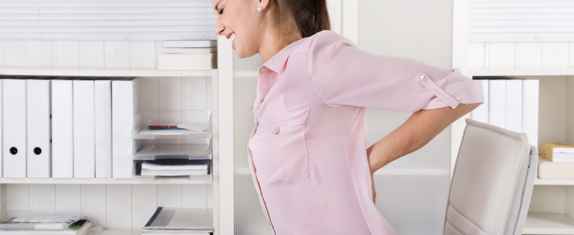 Proper ergonomics in the workplace help prevent injury.