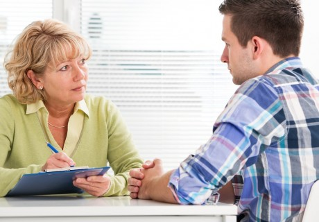 Anxiety symptoms treatment after disability